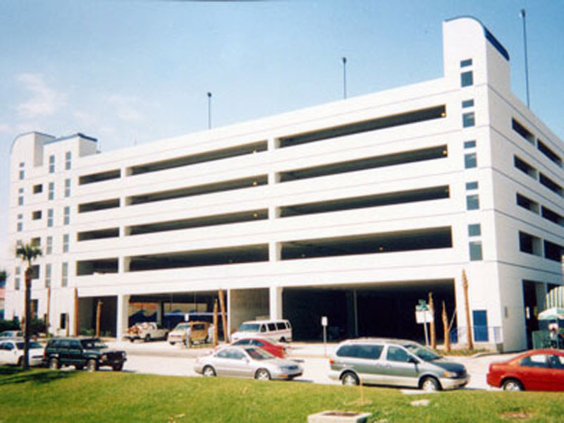 Volusia County Parking Garage